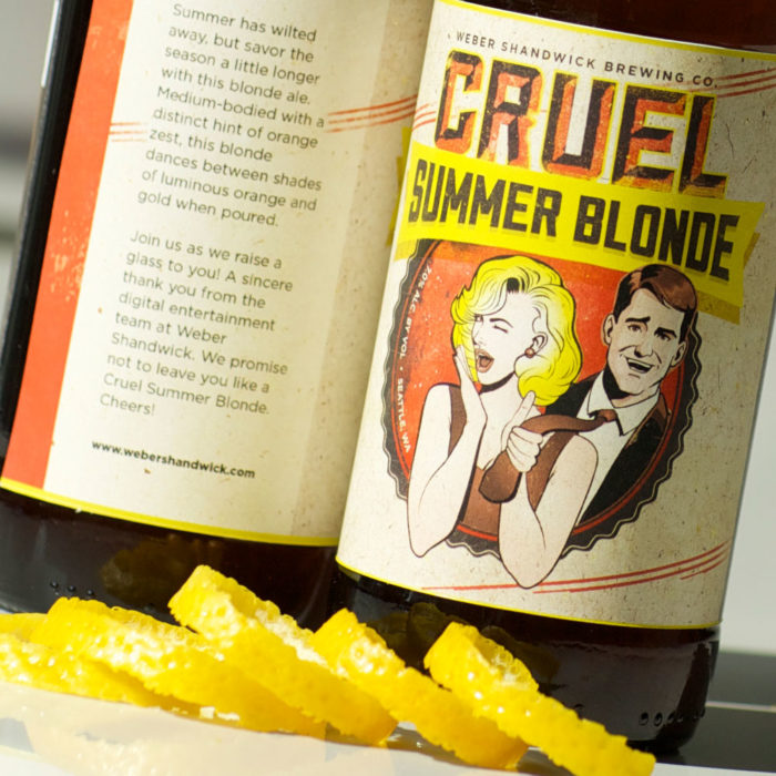Cruel Summer Blonde Beer